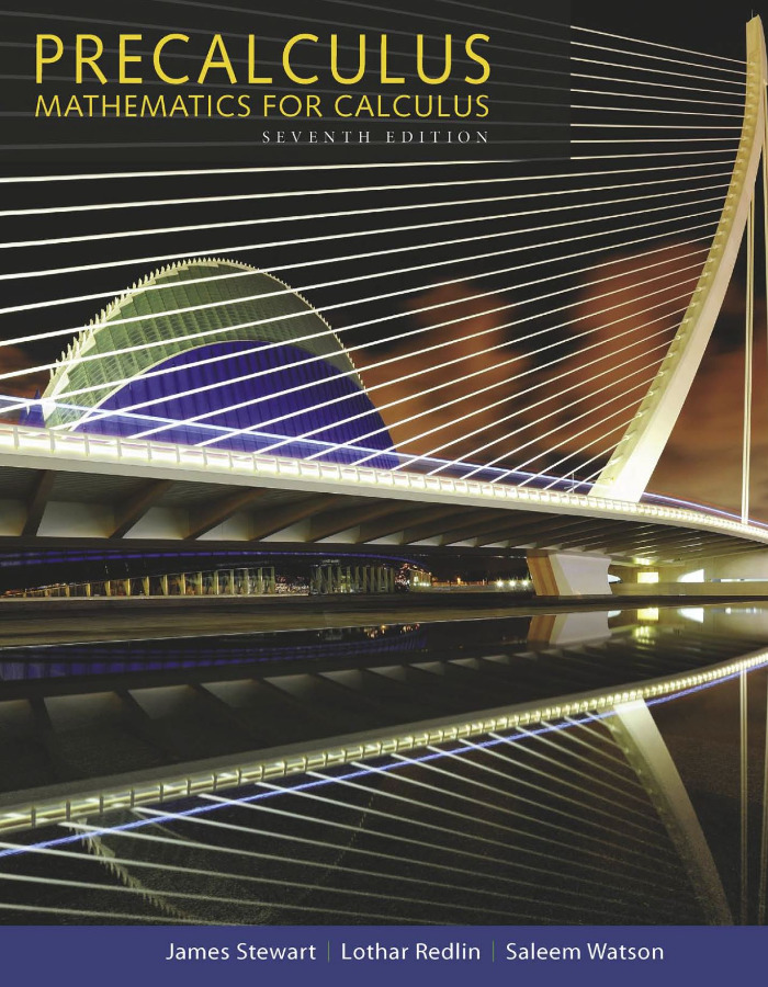 Precalculus Mathematics for Calculus 7th Edition [PDF]