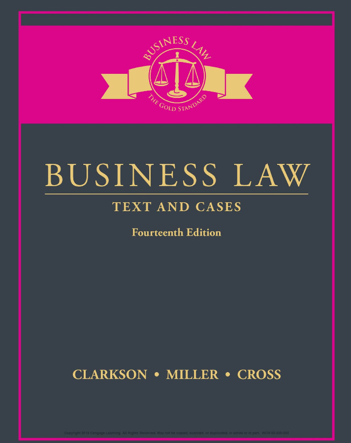 Business Law Text and Cases 14th Edition [PDF]