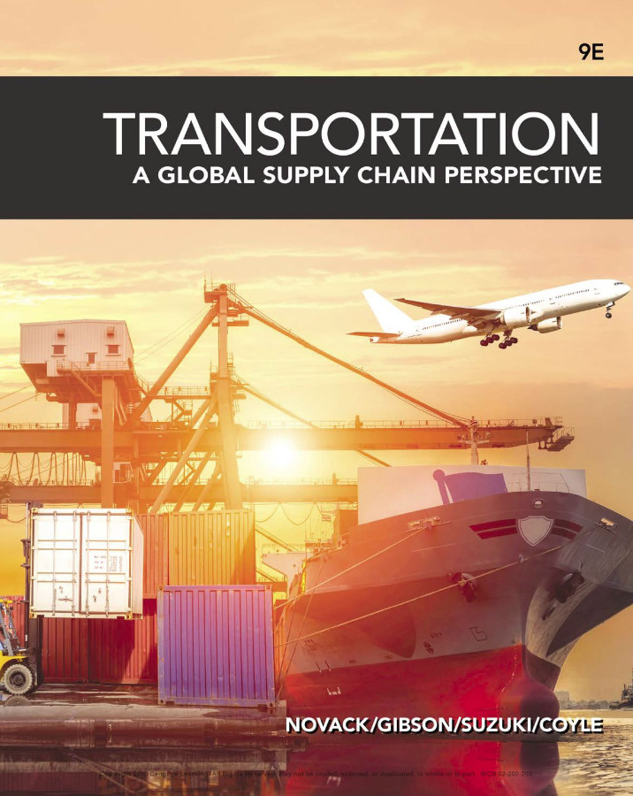 Transportation A Global Supply Chain Perspective 9th Ed