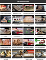 Woodworking Video Page Access