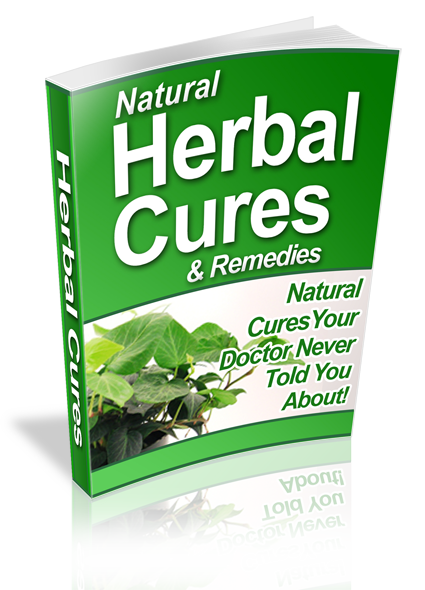 Natural Herbal Cures & Remedies, PDF eBook w/Resell