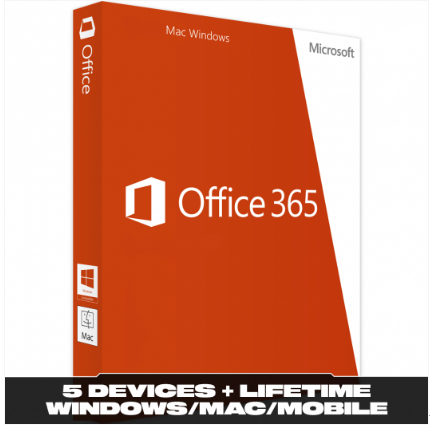 Microsoft Office 365 (5 Devices)
