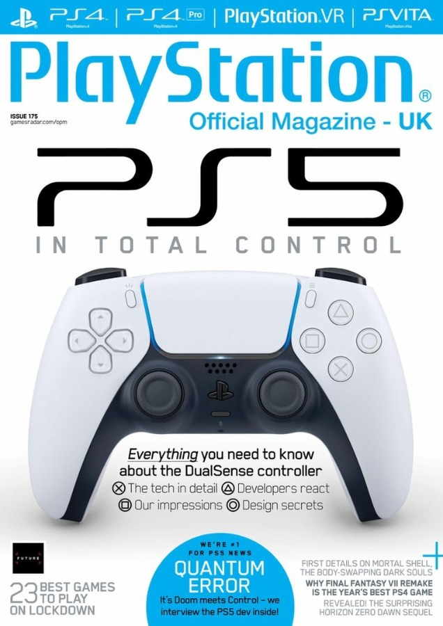 Playstation Official Magazine UK JUNE 2020