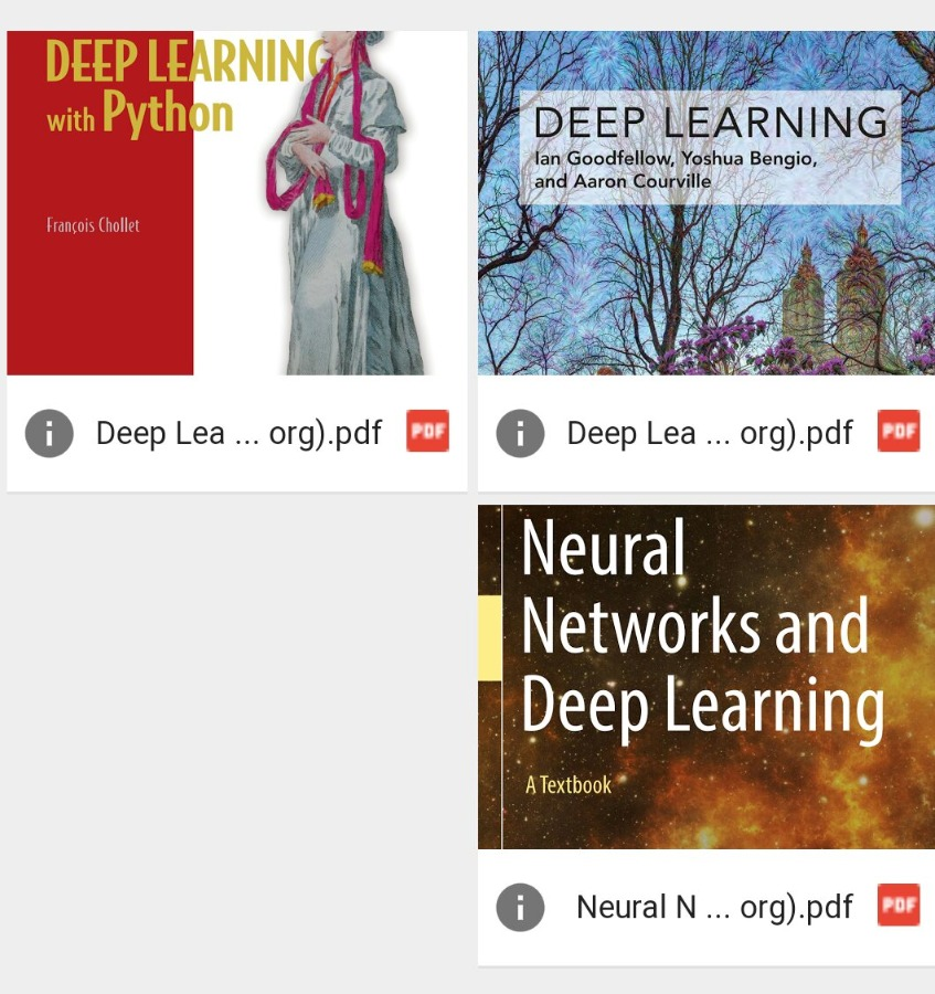 3 Best Deep Learning Books