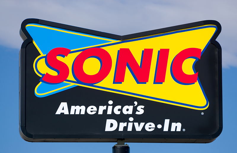Sonic Drive-In 100$