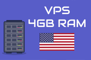 VPS windows/linux | 4 GB ram | US | 1 month