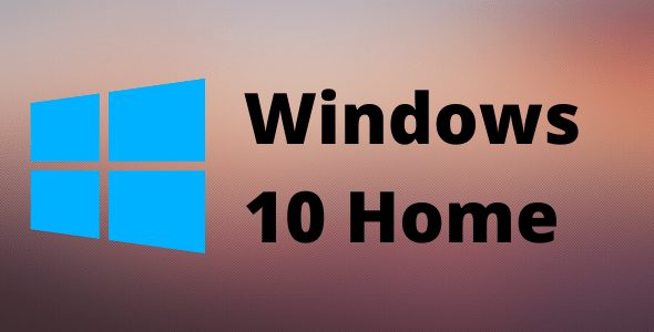Windows 10 Home Retail Lifetime Key for 1 PC