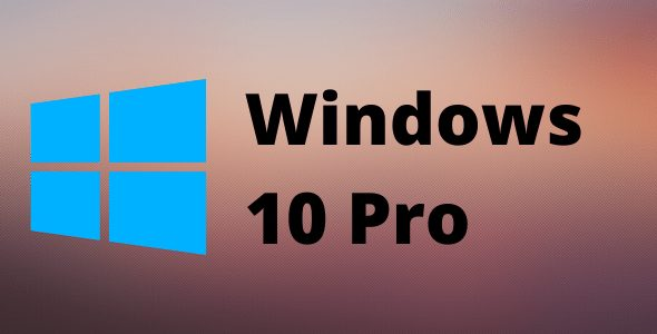 Windows 10 Pro Retail Lifetime Key for 1 PC