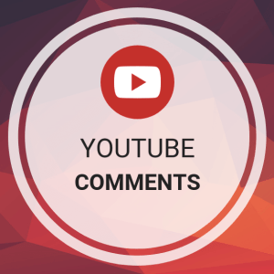 500 Youtube - Comments [CUSTOM] [ NON DROP] INSTANT