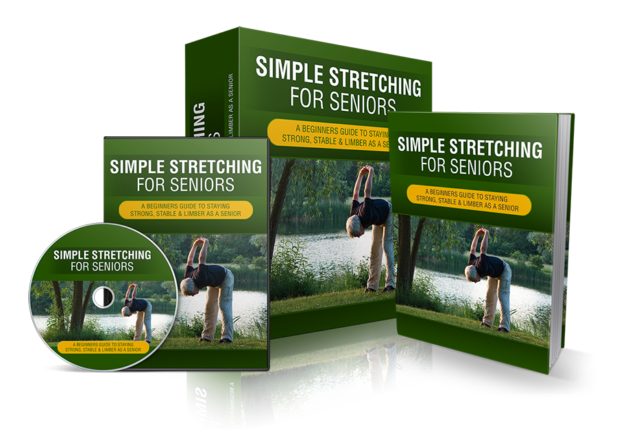 Simple Stretching For Seniors! DVD Included!