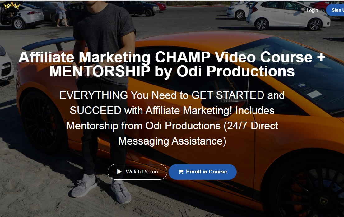 Affiliate Marketing CHAMP Video Course by Odi Productio