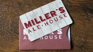 Miller's Ale House Gift Card $100