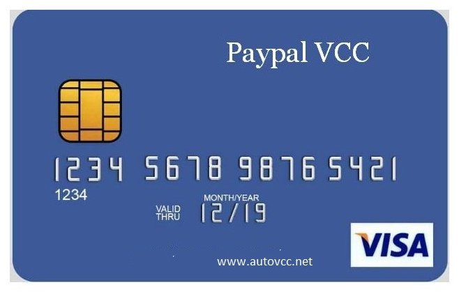 VCC for USA PayPal [Instant Verification] Expiry 5Years