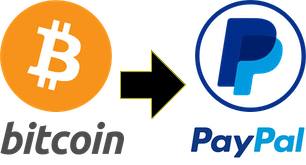 Pay $100 get $110 to your PayPal. BTC to Paypal +10%