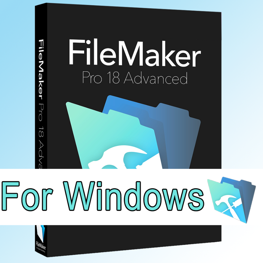 File Maker Advanced Pro 18 Lifetime Licence For Win/Mac