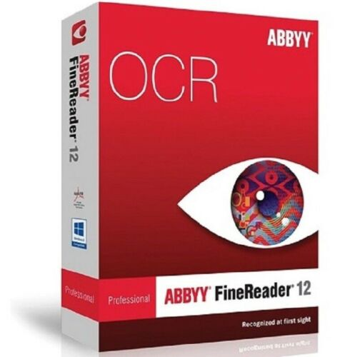 ABBYY FineReader Prof 12 PDF Editor For Windows License