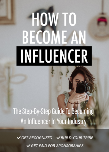 How To Become An Influencer Ebook Download