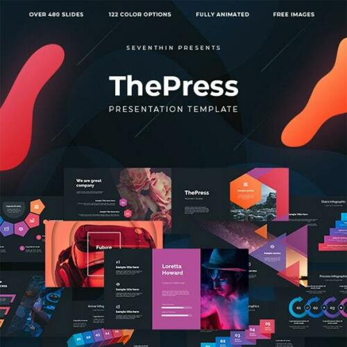 ThePress - Professional Animated PowerPoint Template