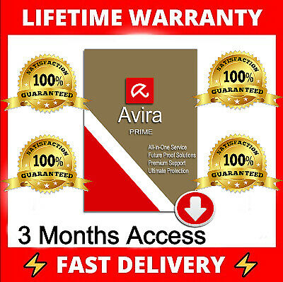 Get Avira PRIME 3 Months/5 devices 💯% Fast Delivery