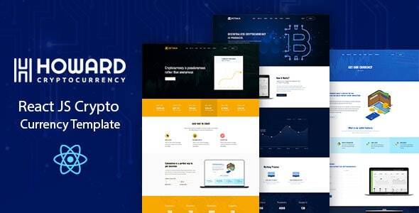 HOWARD - CRYPTO CURRENCY TEMPLATES