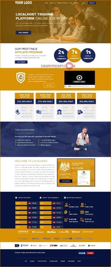 GOLD CODER TEMPLATE 23