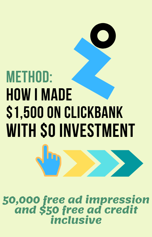 Make $1,500 on Clickbank with $0 Investment