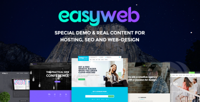 Easy Web - Hosting, SEO and Web-design Agancies