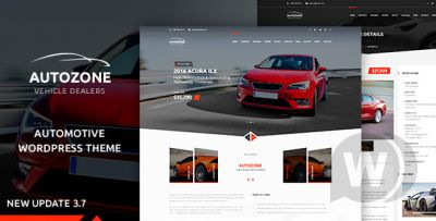 Autozone - WordPress Car Dealer Template