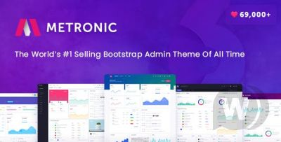 Metronic- Responsive Admin Dashboard Template CMS,CRM