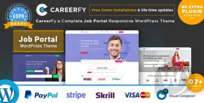 Careerfy V4.5.0 - Job Board WordPress Theme