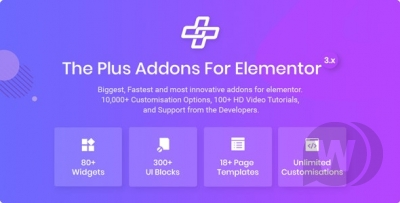 The Plus- Addons for Elementor Page Designer