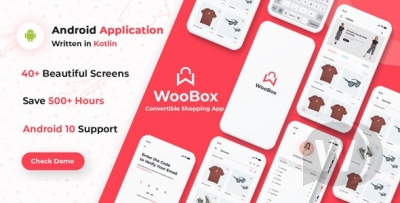 WooCommerce Android App E-commerce Full Mobile App