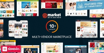 eMarket- Premium Template for theWordPress Online Store