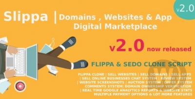 Slippa - Domains, Website & App Marketplace PHP ...