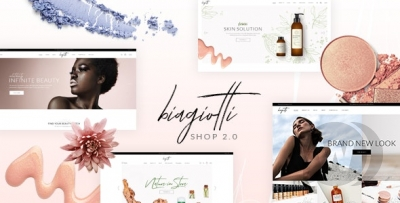 Biagiotti - Beauty and Cosmetics WP Theme