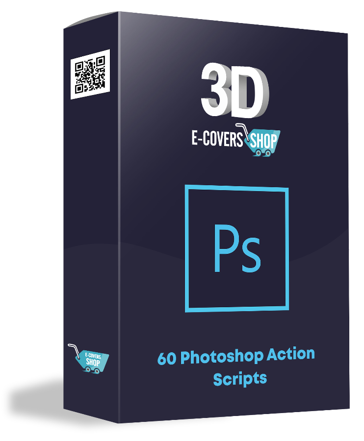Ebook cover graphics and action scripts