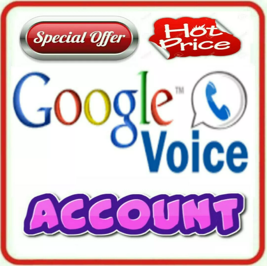 Google Voice Account - Permenant USA Phone Number