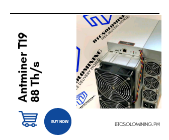 Buy Antminer T19 at BTCSOLOMINING.PW