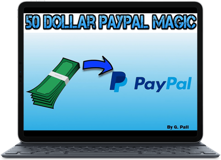 50 Dollar PayPal Magic