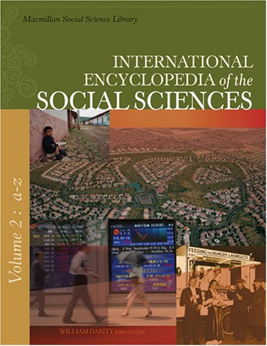International Encyclopedia of the Social Sciences, 2nd
