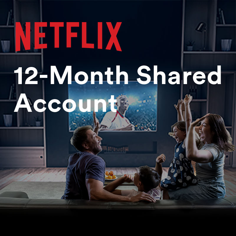 Netflix Premium Account ✅12 Month 📺 4 Screen �...