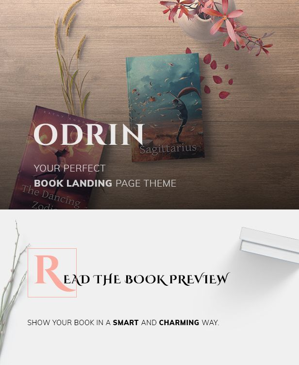 Book Selling WordPress Theme for Writers and Authors