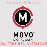 Pay 750$ Bitcoin to get 1000$ MovoCash