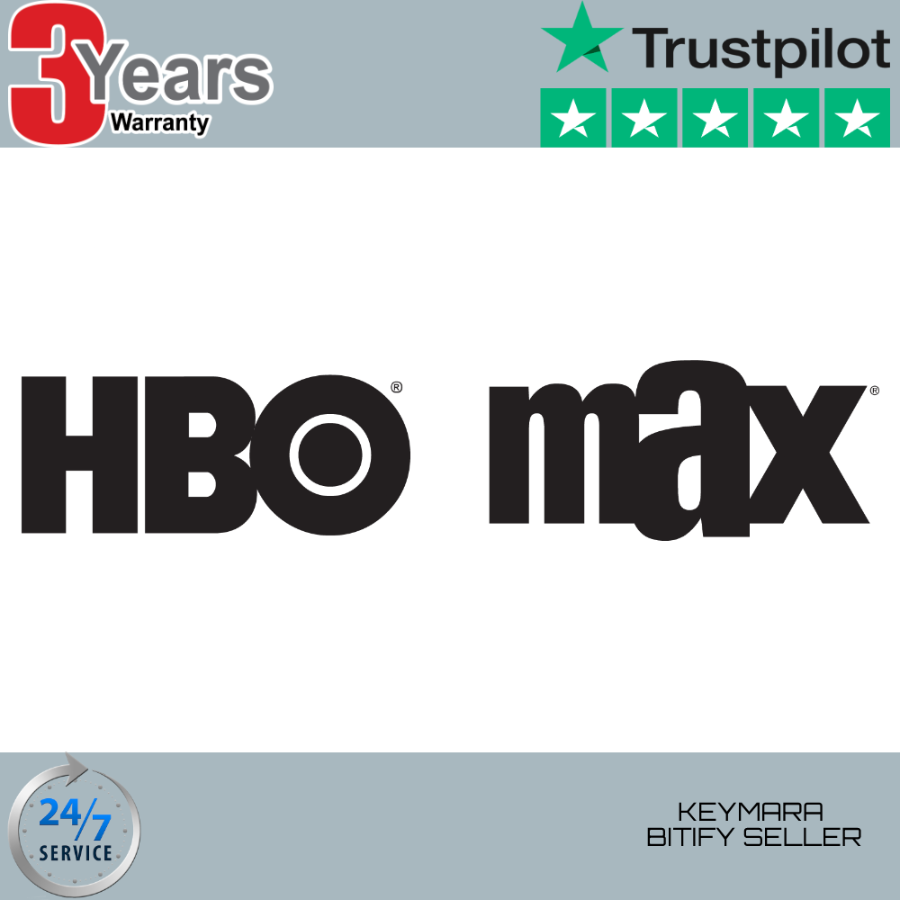 HBO MAX 3 Years Warranty - FAST DELIVERY