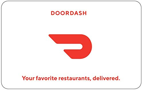 DoorDash gift card 100$