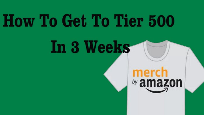 How To Get To Tier 500 In 3 Weeks With Merch
