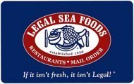 legal sea foods 100$ E-Gift Cards  (Email Delivery)