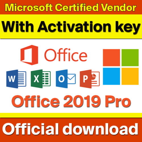 Microsoft Office Professional Plus 2019 x2 Keys