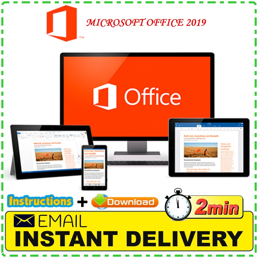 Microsoft Office 2019 Pro Plus - License Lifetime