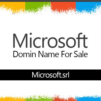 Microsoft Domain name For sale !
